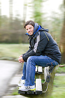LEIDERDORP - Hockey bondacoach bij de Nederlandese dames, MAX CALDAS. COPYRIGHT KOEN SUYK