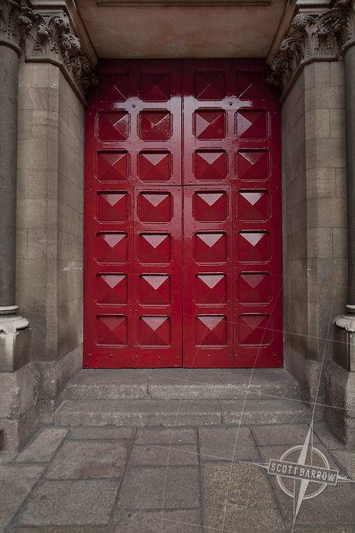 Red door, Ireland