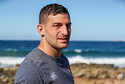 Jonny May (Leicester Tigers)at the beach in Umhlanga - Mandatory by-line: Steve Haag/JMP - 06/06/2018 - RUGBY - Kashmir Restaurant - Durban, South Africa - England Press Conference, South Africa Tour