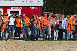 Holland supporters<br /> Final 5 year old horses<br /> World Championships Young Dressage Horses - Verden 2011<br /> © Dirk Caremans