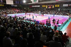 24-04-2016 ITA: Nordmeccanica Piacenza - Foppapedretti Bergamo, Piacenza<br /> Piacenza wint de laatste wedstrijd in the best of three serie met 3-1 en plaatst zich voor de finale / Sporthal IL PALABANCA DI PIACENZA<br /> <br /> ***NETHERLANDS ONLY***
