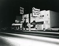 1957 Interlude Nightclub on Sunset Blvd. in West Hollywood