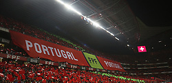 October 10, 2017 - Lisbon, Portugal - General view of the Luz Stadium during the FIFA 2018 World Cup Qualifier match between Portugal and Switzerland at the Luz Stadium on October 10, 2017 in Lisbon, Portugal. (Credit Image: © Carlos Costa/NurPhoto via ZUMA Press)