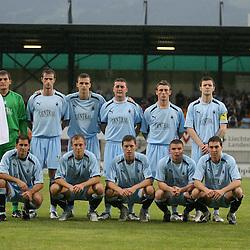 Falkirk v Vaduz, Europa League second-round qualifier July 2009