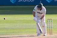 Mark Cosgrove batting during the Specsavers County Champ Div 2 match between Glamorgan County Cricket Club and Leicestershire County Cricket Club at the SWALEC Stadium, Cardiff, United Kingdom on 18 September 2019.