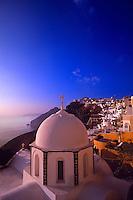 Fira, Island of Santorini, The Cyclades, Greece