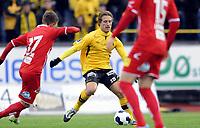 Fotball<br /> 07.05.22014<br /> Norgesmesterskapet 2. runde<br /> Moss v Lillestrøm 0:5<br /> Foto: Morten Olsen, Digitalsport<br /> <br /> Kenneth Di Vita Jensen (15) - Moss