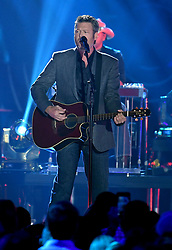 NASHVILLE, TN - JUNE 7: Blake Shelton performs on the 2017 CMT Music Awards at the Music City Center on June 7, 2017 in Nashville, Tennessee. (Photo by Laura Farr/PictureGroup) *** Please Use Credit from Credit Field ***