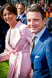 Prince Maurits and Princess Marilene attending King's Day Celebrations in Groningen, Netherlands, on April 27, 2018. Photo by Robin Utrecht/ABACAPRESS.COM