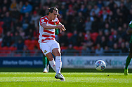 John Marquis of Doncaster Rovers (9) passes the ball during the EFL Sky Bet League 1 match between Doncaster Rovers and Coventry City at the Keepmoat Stadium, Doncaster, England on 4 May 2019.