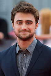 © Licensed to London News Pictures. 23/09/2016. DANIEL RADCLIFFE attends the Swiss Army Man and Imperium film premier's  at the Empire Live gala screening, London, UK. Photo credit: Ray Tang/LNP