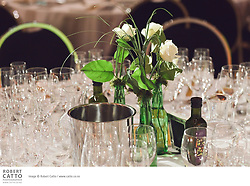 Sam Calagione of Dogfish Head Brewery and wine writer John Saker introduce an evening of fine dining by Ruth Pretty Catering in which guests are invited to vote on matching beer and wine selections with each course.  Who will be the winner on the night?
