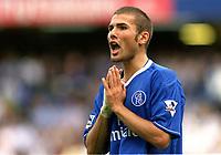 Adrian Mutu (Chelsea). Chelsea v Blackburn Rovers. 30/8/03. Credit : Colorsport/Andrew Cowie.