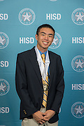 Philip Tan poses for a photograph during the Scholars banquet, April 12, 2016.