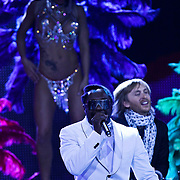 MON/Monte Carlo/20100512 - World Music Awards 2010, Will.i.Am en David Guetta en showdanseressen