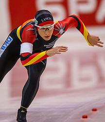 05-01-2003 NED: Europees Kampioenschappen Allround, Heerenveen<br /> Europees kampioen Anni Friesinger GER