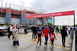 A general view as fans arrive at Old Trafford - Mandatory by-line: Matt McNulty/JMP - 17/09/2017 - FOOTBALL - Old Trafford - Manchester, England - Manchester United v Everton - Premier League