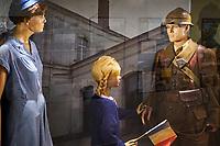 France, Vendée (85), Les Sables-d'Olonne, musée Blockhaus Hopital // France, Vendée, Les Sables-d'Olonne, Blockhaus Hospital museum