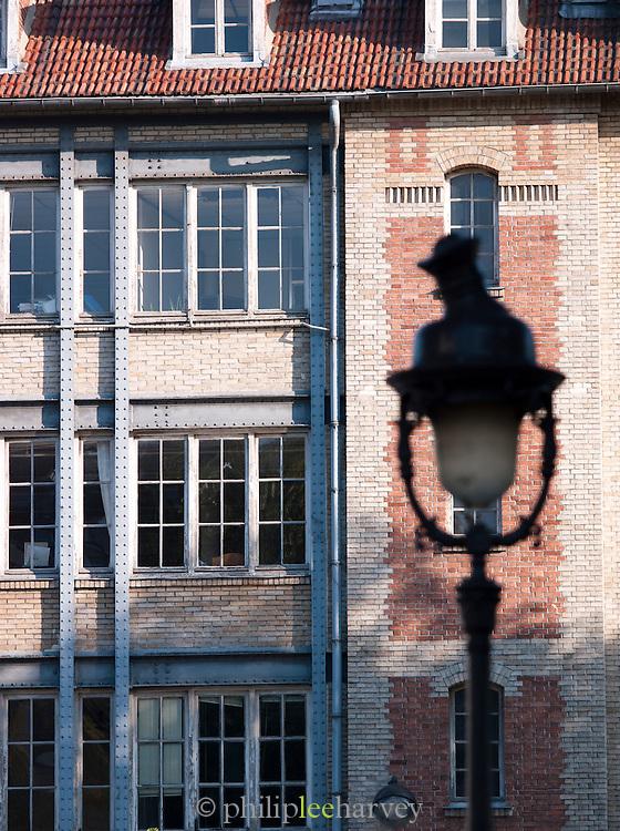 Architecture in Belleville, Paris, France