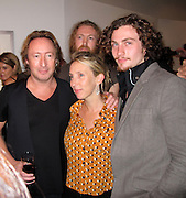 """Julian Lennon, Director Sam Taylor-Wood and Actor Aaron Johnson..""""Timeless"""" by Julian Lennon, Photography Exhibit Opening of John Lennon and Bono's Photographs..Morrison Hotel Gallery..New York, NY, USA..Thursday, September 16, 2010..Photo ByiSnaper.com/ CelebrityVibe.com..To license this image please call (212) 410 5354; or Email:CelebrityVibe@gmail.com ;.website: www.CelebrityVibe.com."""