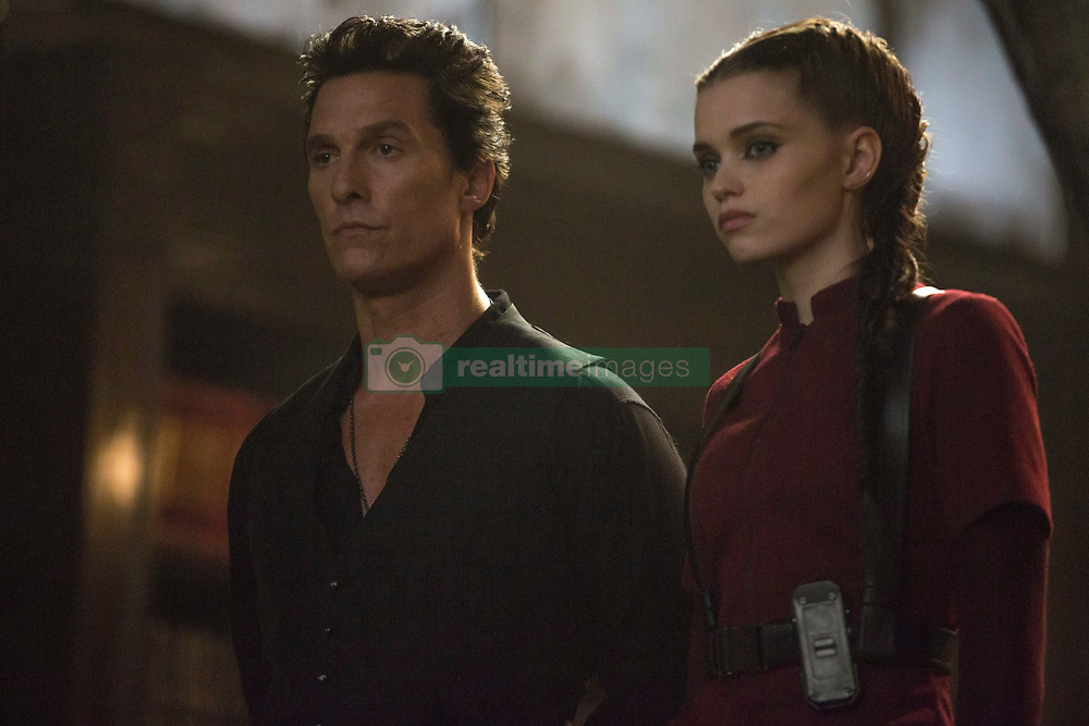 Walter (Matthew McConaughey) and Tirana (Abbey Lee) in Columbia Pictures THE DARK TOWER.