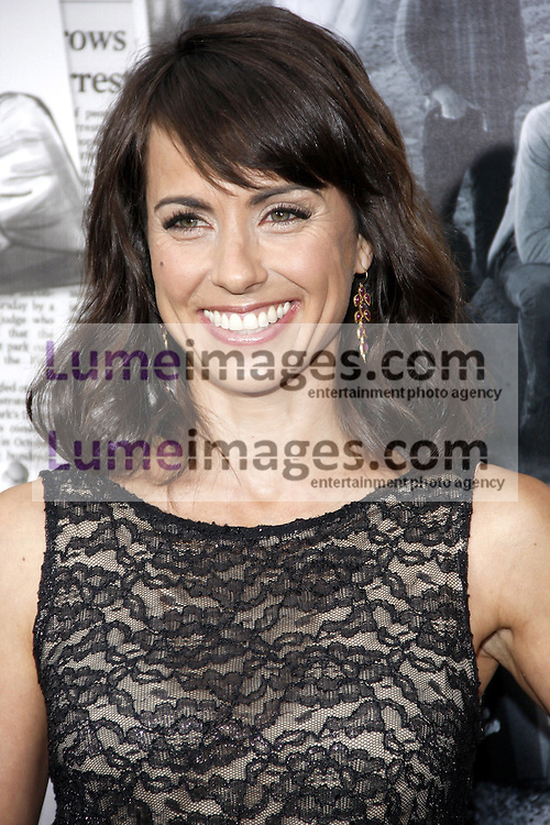 """Constance Zimmer at the HBO's Season 2 Premiere of """"The Newsroom"""" held at the Paramount Studios in Hollywood, USA on July 10, 2013."""