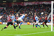 Goal - Florin Andone (10) of Brighton and Hove Albion scores a goal to make the score 1-3 during the The FA Cup 3rd round match between Bournemouth and Brighton and Hove Albion at the Vitality Stadium, Bournemouth, England on 5 January 2019.