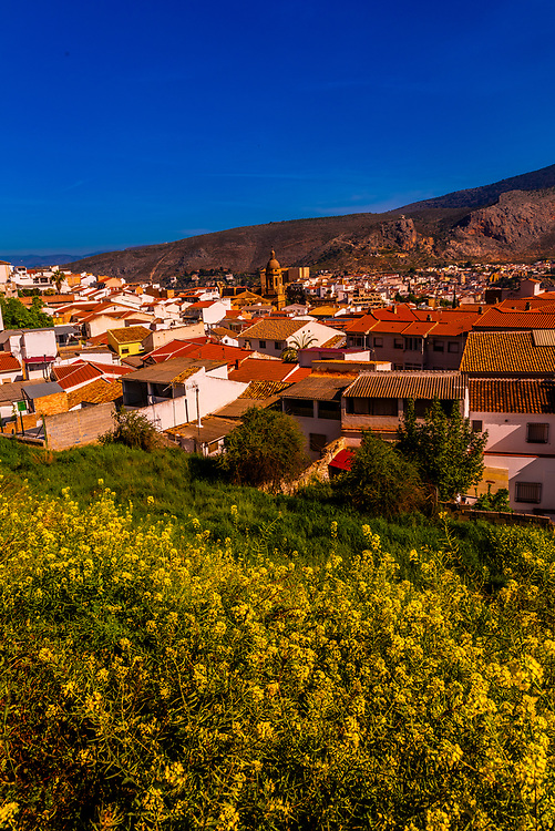 The town of Loja, Granada Province, Andalusia, Spain.