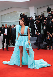 September 2, 2017 - Venice, Italy - Guest walks the red carpet ahead of the 'Suburbicon' screening during the 74th Venice Film Festival  in Venice, Italy, on September 2, 2017. (Credit Image: © Matteo Chinellato/NurPhoto via ZUMA Press)