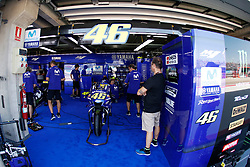 September 22, 2018 - Box Movistar Yamaha MotoGP  during  Gran Prix Movistar the Aragón. 22-09-2018  September 22, 2018. (Credit Image: © AFP7 via ZUMA Wire)