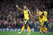 Arsenal v FC Basel 280916