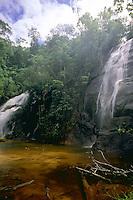 Cascada en selva Amazonica, Amazonas, Venezuela.