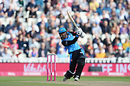 Tom Fell of Worcestershire Rapids batting during the Vitality T20 Finals Day Semi Final 2018 match between Worcestershire Rapids and Lancashire Lightning at Edgbaston, Birmingham, United Kingdom on 15 September 2018.