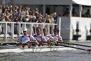 Henley, Great Britain.  Stewards' Challenge Cup, Semi final, Berks,  Brentwood College RC and Shawnigan Lake Scholl, CANAD. CAN M4-, Bow Kip McDANIEL at the  2007 Henley Royal Regatta,  Henley Reach, England 07/07/2007  [Mandatory credit Peter Spurrier/ Intersport Images] Rowing Courses, Henley Reach, Henley, ENGLAND . HRR.
