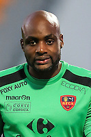 Steeve Elana of Ajaccio during the Ligue 2 match between Stade Lavallois Laval and Gazelec Ajaccio on August 19, 2016 in Laval, France. (Photo by Vincent Michel/Icon Sport)