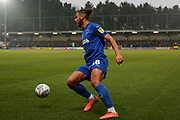 AFC Wimbledon defender Nesta Guinness-Walker (18) about to cross the ball during the EFL Sky Bet League 1 match between AFC Wimbledon and Peterborough United at the Cherry Red Records Stadium, Kingston, England on 18 January 2020.