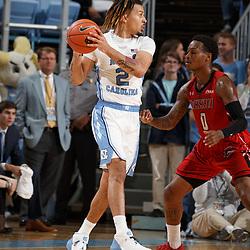 2019-11-01 Winston-Salem State at North Carolina basketball
