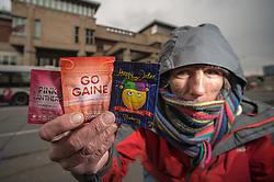 Legal highs for sell on the street including Gogaine, Pink Panthers and Happy Joker