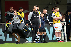 April 8, 2018 - Montpellier, France - Patrice COLLAZO, entraineur La Rochelle (Credit Image: © Panoramic via ZUMA Press)