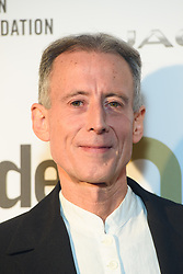 Peter Tatchell backstage at the Attitude Awards, at the Roundhouse in North London. Picture date: Thursday October 12th, 2017. Photo credit should read: Matt Crossick/ EMPICS Entertainment.