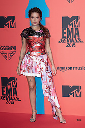 Halsey attends the MTV EMAs 2019 at FIBES Conference and Exhibition Centre on November 03, 2019 in Seville, Spain. Photo by David Niviere/ABACAPRESS.COM