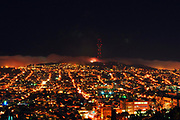 500px Photo ID: 4397144 - sutro tower at night over the mission district of san francisco