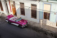 HAVANA, CUBA - CIRCA MAY 2017:  Old Classic Car in Havana.