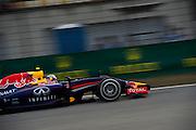 April 17, 2014 - Shanghai, China. UBS Chinese Formula One Grand Prix. Daniel Ricciardo (AUS), Red Bull-Renault<br /> <br /> © Jamey Price / James Moy Photography