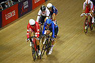 Women Points Race, Maria Giulia Confalonieri (Italy) during the Track Cycling European Championships Glasgow 2018, at Sir Chris Hoy Velodrome, in Glasgow, Great Britain, Day 3, on August 4, 2018 - Photo Luca Bettini / BettiniPhoto / ProSportsImages / DPPI