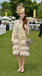 OLIVIA GRANT at day two of the Royal Ascot 2016 Racing Festival at Ascot Racecourse, Berkshire on 15th June 2016.