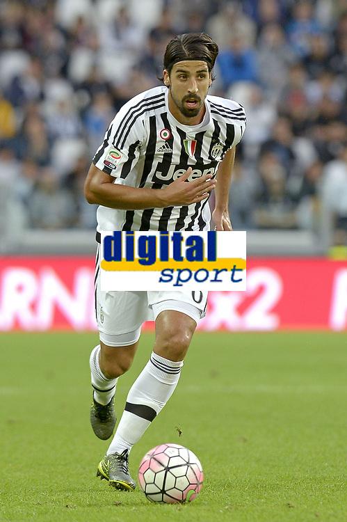 Sami Khedira Juventus,<br /> Torino 04-10-2015, Juventus Stadium, Football Calcio 2015/2016 Serie A, Juventus - Bologna, Foto Filippo Alfero/Insidefoto