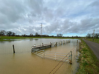Flooding near  Middleton Cheney  South Northamptonshire, England photo by Michael Butterworth