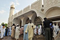 Sept. 24, 2015 - People seen during this year Eid El Kabir prayer at Kofar Mata Mosque Kano State, Nigeria on 24th September 2015  (Credit Image: © Next24online/NurPhoto via ZUMA Press)