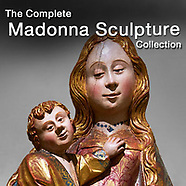 Virgin Mary - Madonna & Child - Gothic Statues & Sculpture